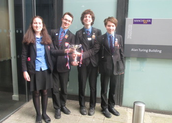Christ's College - Alan Turing Cryptography Competition Winners