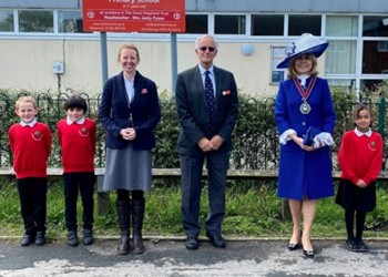 High Sheriff of Surrey visits St Johns