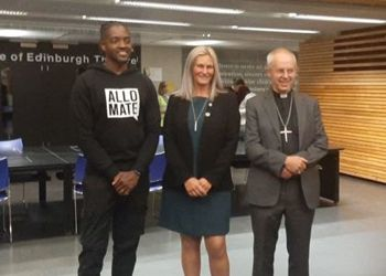 Archbishop of Canterbury visit to Christs College
